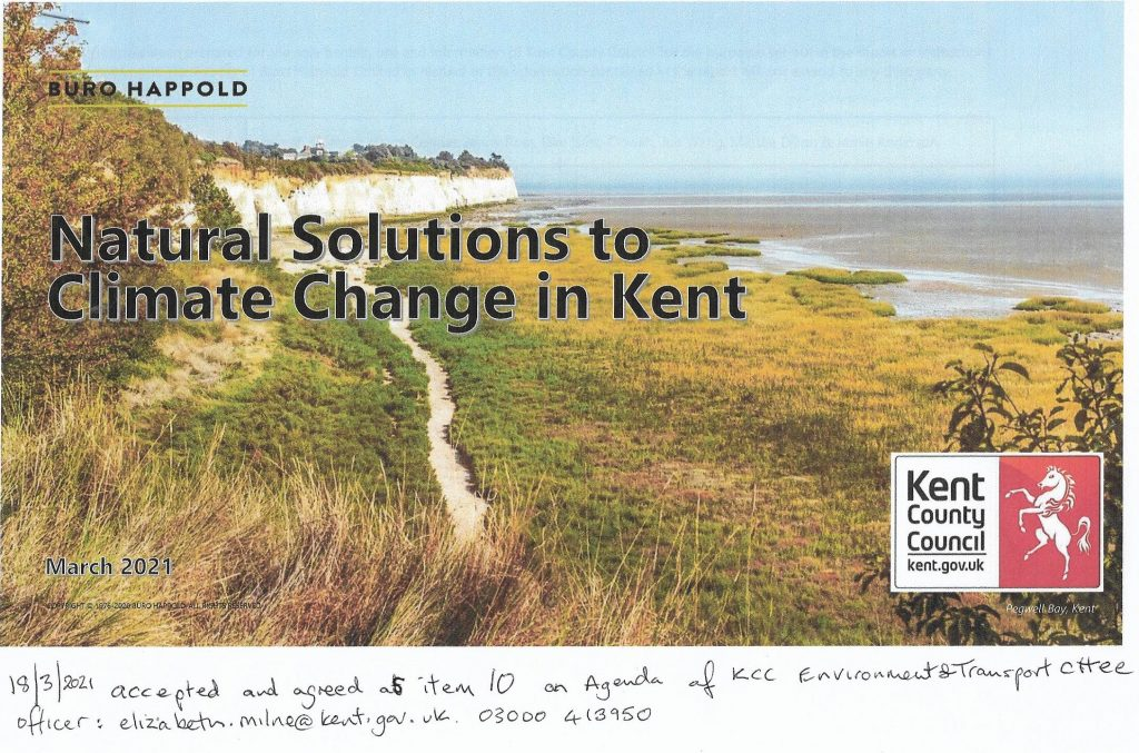 KCC Report: Natural Solutions to Climate Change in Kent
